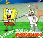 S�nger Bob �p Atlama Oyunu