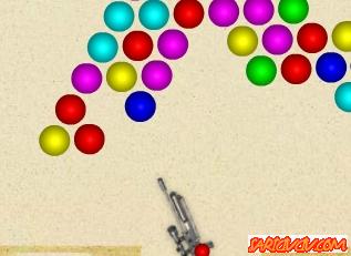 Tüfekle Balon Patlatma Oyunu