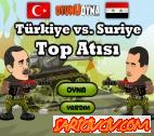 Türkiye Suriye Top Atışı Oyunu