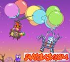 Uçan Balon Savaşı Oyunu